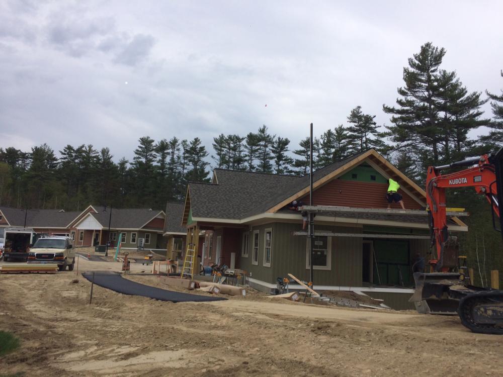 Rivermead Village Cottages - Hutter Construction