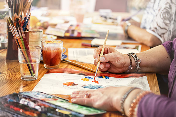 painting workshops at RiverMead