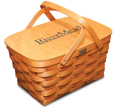 RiverMead to-go basket