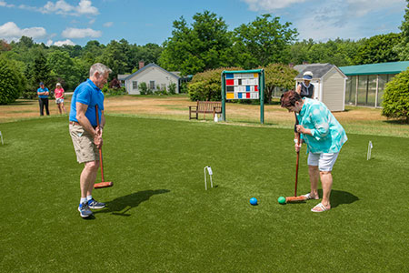 croquet at RiverMead
