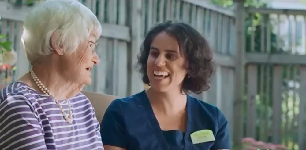 nurse and resident at RiverMead