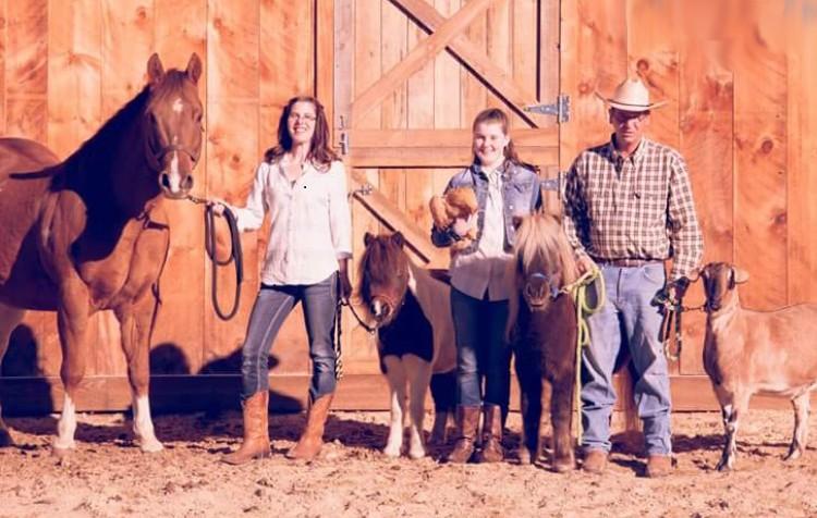 Jason Duval and family