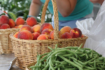 farmers market at RiverMead