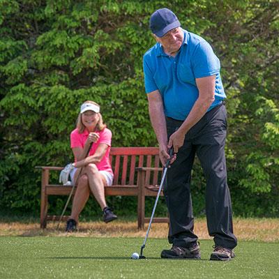 golf at RiverMead