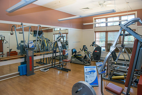 gym at RiverMead