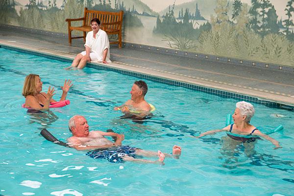 swimming pool at RiverMead